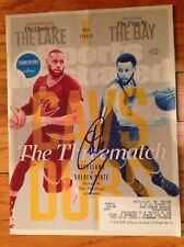 STEPH CURRY AUTOGRAPHED/SIGNED SPORTS ILLUSTRATED GOLDEN STATE PLAYOFFS