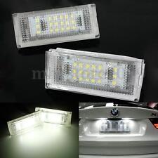2x  Error Free SMD LED Number License Plate Light For BMW E46 4D 5D Sedan 4dr