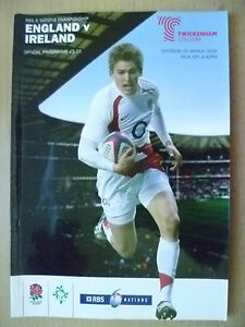 2008 Rugby RBS 6 Nation Championship- ENGLAND v IRELAND,15 March (Exc*)