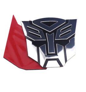 Transformers Autobot Aufkleber Car Sticker 3D Chrome Emblem Metall Logo Auto