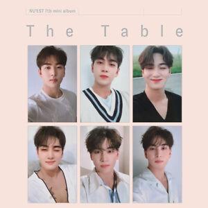 NU'EST Baekho Official Photocard 7th Mini Album - The Table