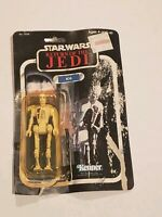 1984 VINTAGE STAR WARS RETURN OF THE JEDI 8D8 KENNER  NEW ON OPENED CARD