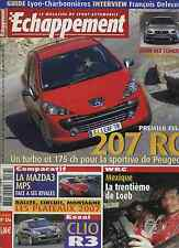 ECHAPPEMENT n°476 04/2007207RC MAZDA 3 MPS CLIO R3 WRC MEXIQUE BMW M3