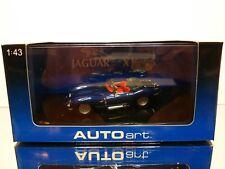 AUTOART 53751 JAGUAR XK SS - BLUE METALLIC 1:43 - EXCELLENT IN BOX