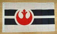 White Star Wars Rebel Alliance 3x5 ft Flag Banner