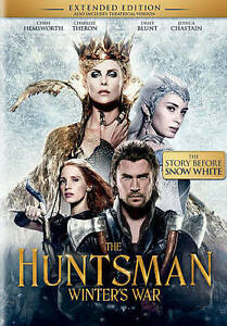 The Huntsman: Winter's War DVD 2016