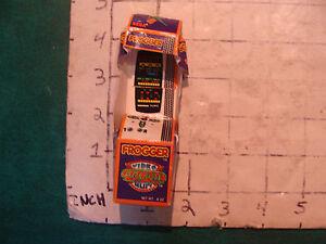 FROGGER video arcade gum box only, 1983, torn a bit, cool