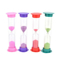 Minutes Sand Glass Sandglass Hourglass Timer Clock Home Decor SI