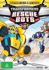 Transformers Rescue Bots -Bumblebee To The Rescue (DVD, 2014)-REGION 4-free post