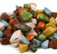 SweetGourmet Candy Coated Milk Chocolate Assorted Rocks- 1 pound FREE SHIPPING!