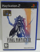 FINAL FANTASY XII 12 - PS2 - PLAYSTATION 2 - USATO PERFETTO