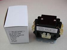 Hvacstar SA-2P-30A-120V Definite Purpose Contactor 2 Poles 30FLA 120V AC Coil