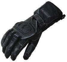 Heyberry Winter Motorradhandschuhe gefüttert schwarz Gr. XL