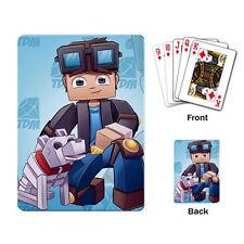 DanTDM The Diamond Minecart Playing Cards