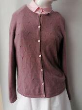 Micaella cashmere ladies cardigan, size m, women's top, warm jumper, multicolour