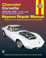 Repair Manual-Base Haynes 24040 fits 76-78 Chevrolet Corvette