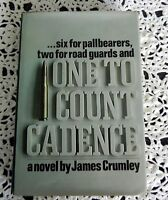 One To Count Cadence by James Crumley SIGNED STATED 1ST PRINTING (1st Book) HC