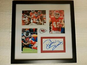 Dan Daniel Sorensen Signed Autograph Card Kansas City Chiefs Football COA