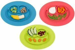 Baby Silicone Suction Plate Kids Feeding Silicone Bowl Toddlers weaning BPA free