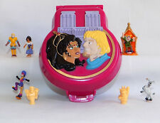 POLLY POCKET Tiny Collection HUNCHBACK of NOTRE DAME playset figures -  L@@K!