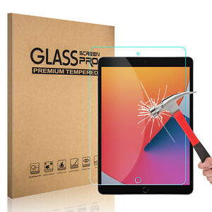 For iPad 10.2 inch,9th Generation,8th 7th Gen. Tempered Glass Screen Protector
