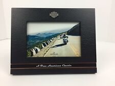 Harley Davidson Picture Frame A True American Dream Motor Cycles Hallmark New