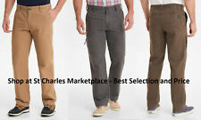 GH BASS & Co Mens Canvas Terrain Stretch Pants Outdoor, Pick Size and Color, NWT