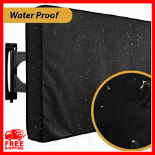 "Waterproof LCD TV Cover Protect For Outdoor Dust-Proof Microfiber Cloth 22"" 55"""