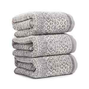 Marrakesh Decorative Cotton Towel – Grey