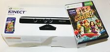 Xbox 360 Kinect Sensor Bar with Nyko Zoom and Adventures Game in original box