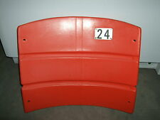 Candlestick Park Stadium seat back #24 Willie Mays  San Francisco Giants
