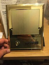 Nutone ISA-319PB Outdoor Patio Intercom Speaker IM3303 IMA3303 IS-319 Brass