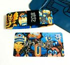 ZOX *SKY'S THE LIMIT* Silver Strap med Wristband w/Card New Mystery Pack MONSTER