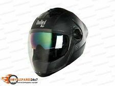 Steelbird Air SBA-2 Double Visor Mat Black Full Face Motorbike Helmet Stylish