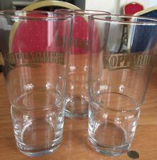 Kopparberg Tumbler Gold Embossed Pint Glasses 568ml 100% Genuine Box of 12