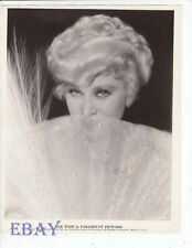 Mae West It Ain't No Sin VINTAGE Photo