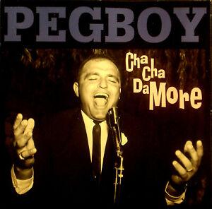 CD PEGBOY - cha cha da more, vg+/m-