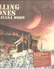"The Rolling Stones ""HAVANA MOON"" 2cd + DVD + Blu-Ray hardcover book sealed"