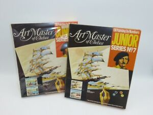 Art Master of Chelsea, NJM23 & NJM16 Junior Series No7 Oil Painting by Numbers.