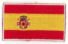 Fahnenaufnäher Flaggen Aufnäher Spanien Spain Espana 6,5x4cm mit Bügelrückseite