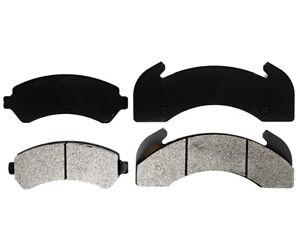 Disc Brake Pad Set-Specialty - Medium Duty; Metallic Front,Rear Raybestos
