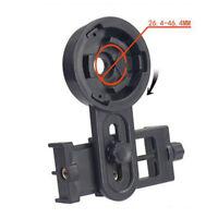 Cell Adapter Telescope Monocular Smartphone Mount Black Spotting Binocular