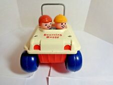 Vintage 1973 Fisher Price Bouncing Buggy #122
