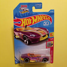 1/64 HOT WHEELS - 50TH - RR ROADSTER - HOLIDAY RACERS 5 OF 6