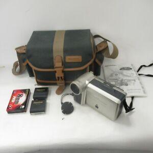 Sharp Viewcam 8 VLE630 Camcorder - Case, 3 Batteries + Charger, TDK 8mm Cassette