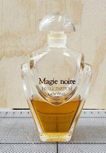 40% full Used 1 oz Lancome MAGIE NOIRE Huile Parfum Perfume Oil 30 mL