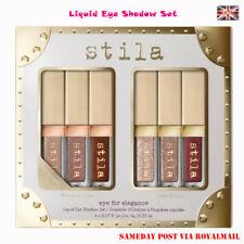 Eye Elegance Shimmer Glitter Liquid Eye Shadow Stila Make up kit 6PCS -UK Stock