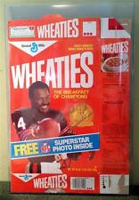 WALTER PAYTON Chicago Bears AUTOGRAPHED Wheaties Box - AWESOME
