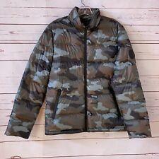 New UGG Mens Size S Down Jacket Liner Full Zip Camouflage Lighweight NWOT