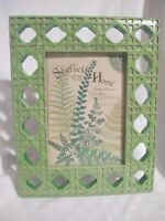 Decorative Table Frame Green Garden Trellis Sheffield Home 5 X 7 Resin